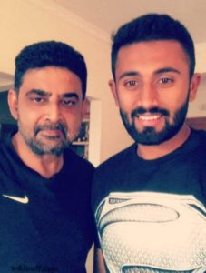 Shreyas-gopal-with-his-father