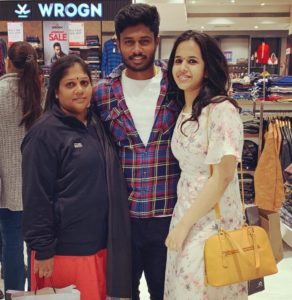 sanju-samson-family-wife-and-mother