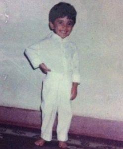 ajaz-patel-childhood-pic