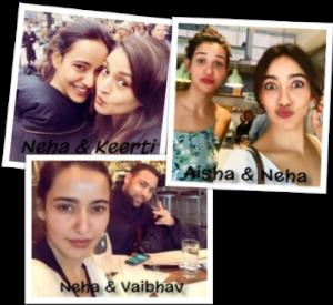 Neha-sharma-sister-brother-family
