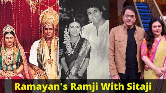 Ramayan Ramji With Deepika aka Sitaji