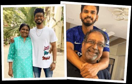 shreyas-iyer-family-parents