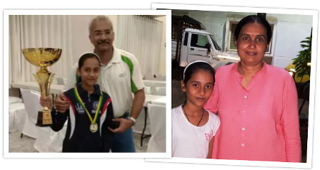 divya-deshmukh-family-parents